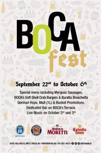 Boca Fest Flyer 2018
