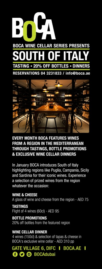 South Italy Wine Insert