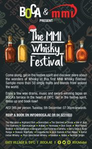 Whisky Festive Flyer